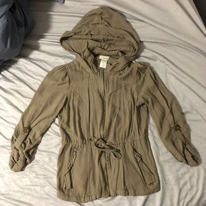 Jackets & Blazers - Olive green jacket size small!